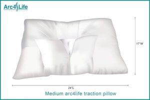 Arc4Life Cervical Neck Traction Pillow