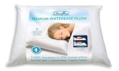 Chiroflow Waterbase Waterpillow, Standard, White Review
