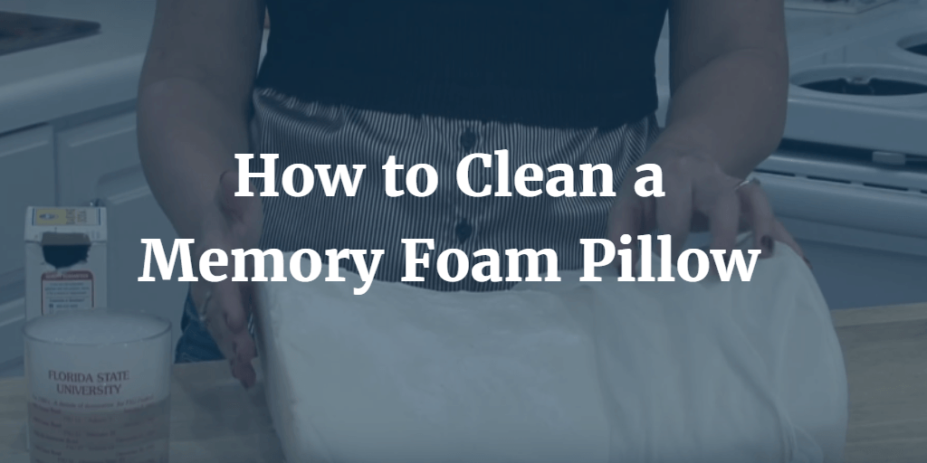 How-to-Clean-a-Memory-Foam-Pillow