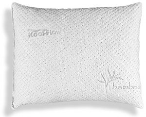 Xtreme comfort slim hypoallergenic bamboo pillow