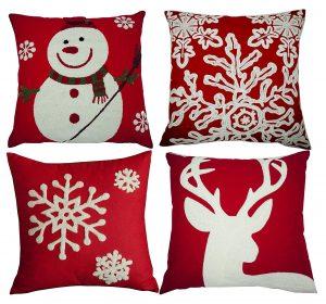 BLUETTEK Christmas pillow