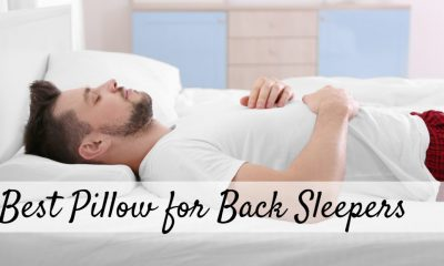 Best Pillow For Sleeping On Back – In Depth Guide 05/2021