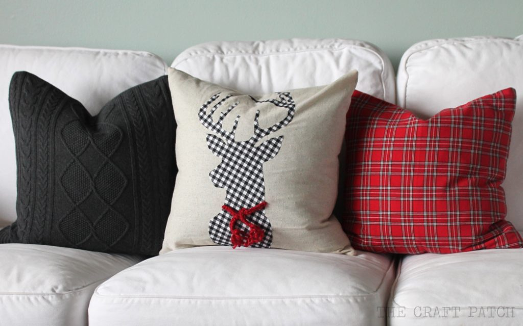 DIY Christmas pillows
