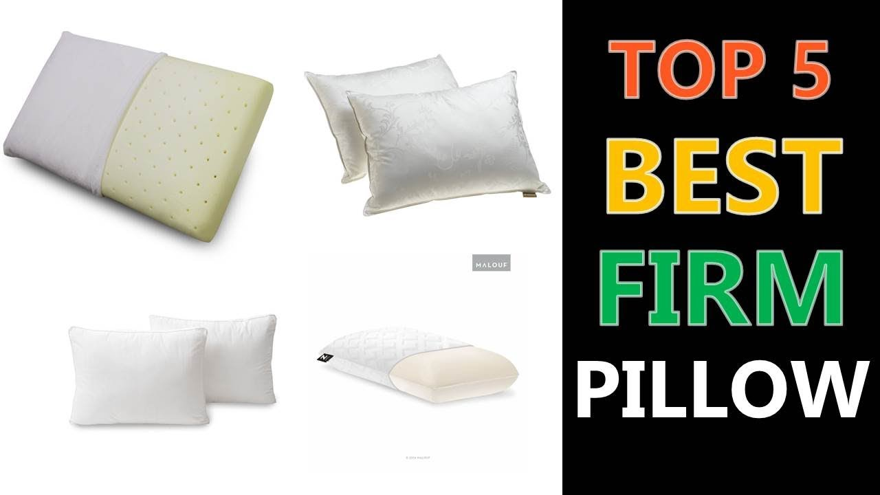 Best Firm Pillow You Can Buy Reviews