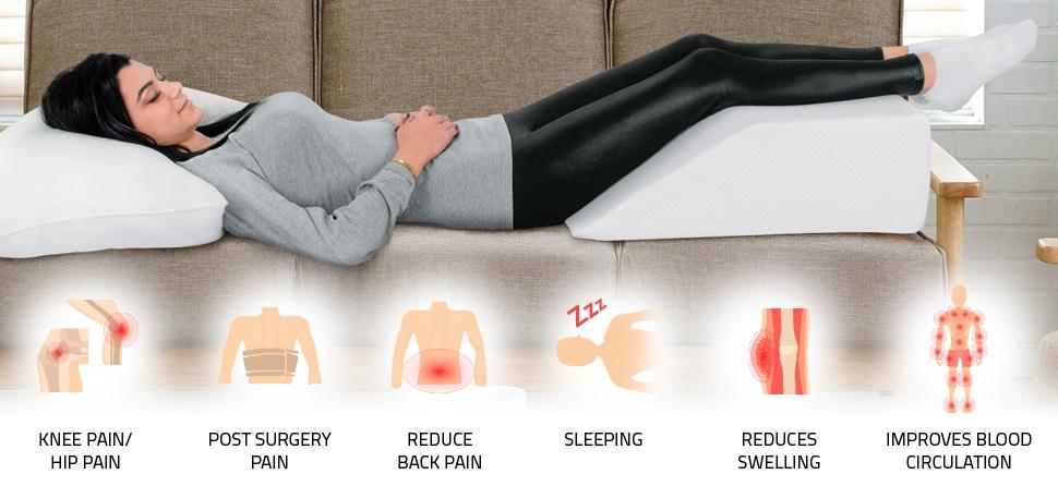 Leg Elevation Pillow BENEFITS