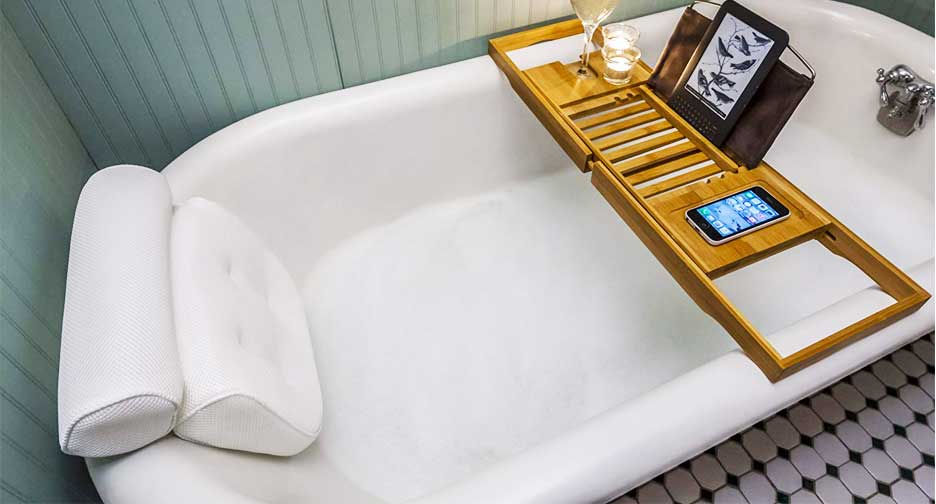 best bath pillow