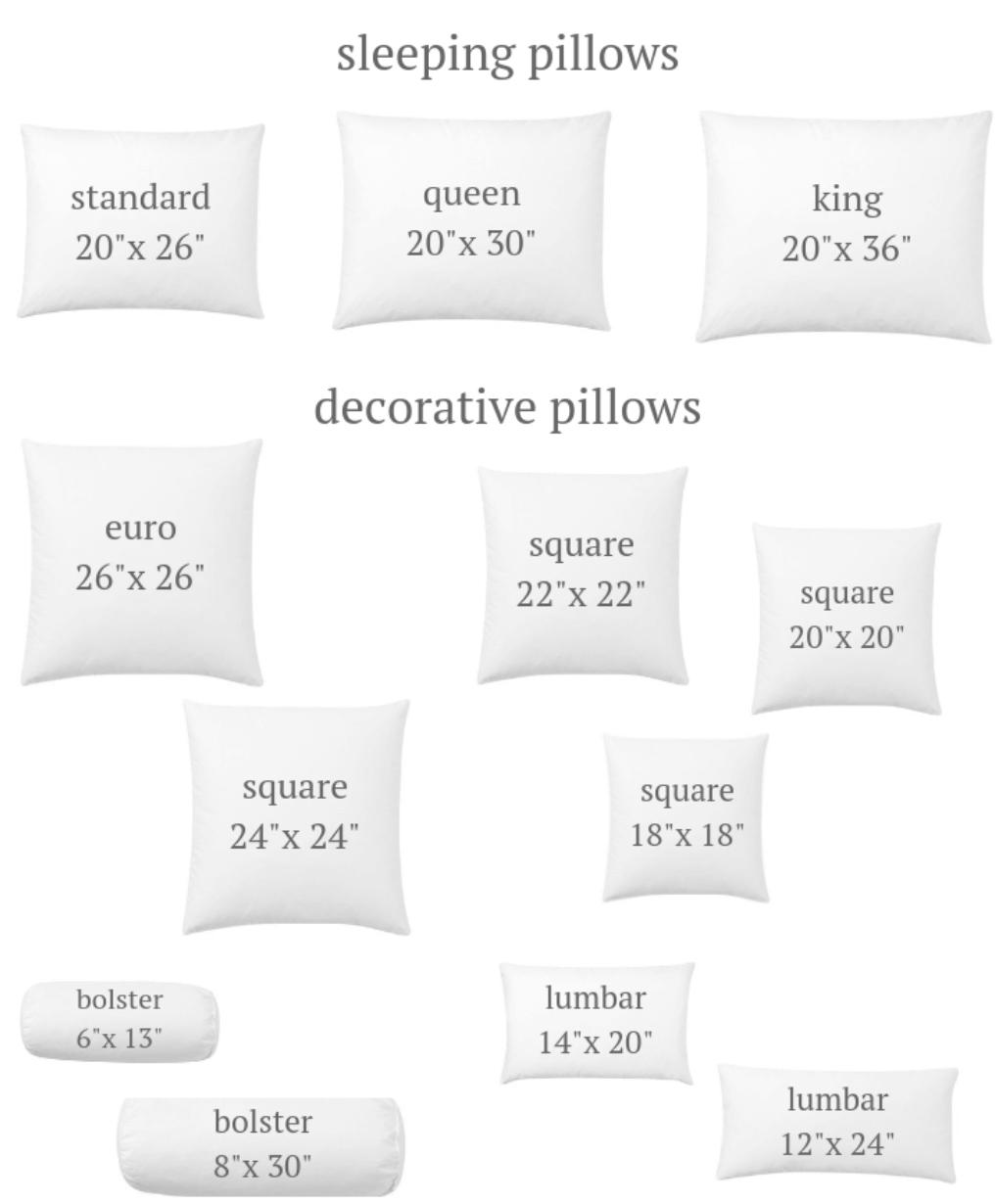 Euro Pillow Standard Size