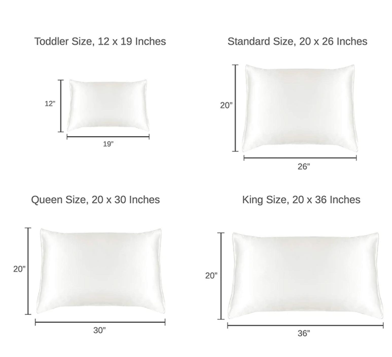 Standard Toddler Pillow Size